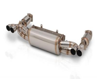 GruppeM Porsche 997 Turbo Exhaust System