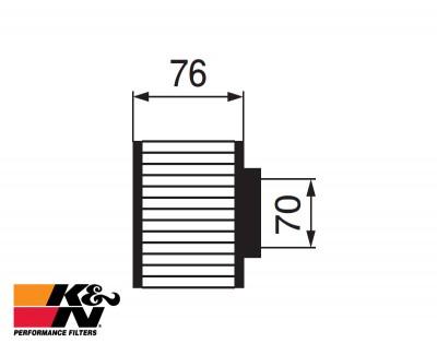 K&N Air Filter RC-0930