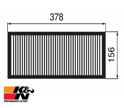 K&N Air Filter 33-2264