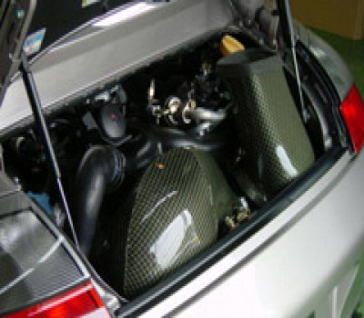 GruppeM Porsche 911 996 3.6 Turbo Intake System