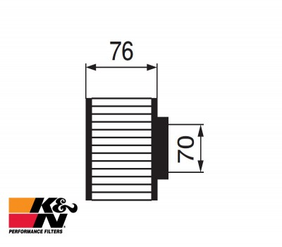 K&N Air Filter RC-0930