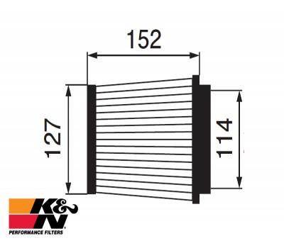 K&N Air Filter RU-3480