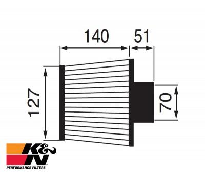 K&N Air Filter RU-4960