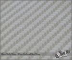 Neffy Silver Carbon Fiber Vinyl Wrap