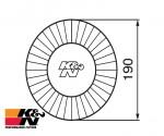 K&N Air Filter RC-2960