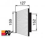 K&N Air Filter RC-3160