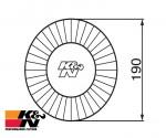 K&N Air Filter RF-1009