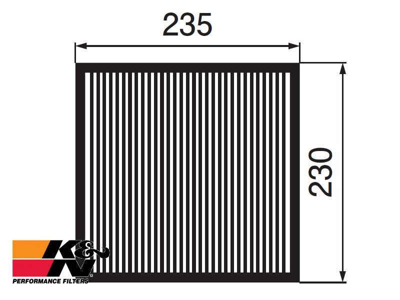 K&N Air Filter 33-2733