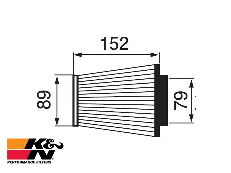 K&N Air Filter RC-3250