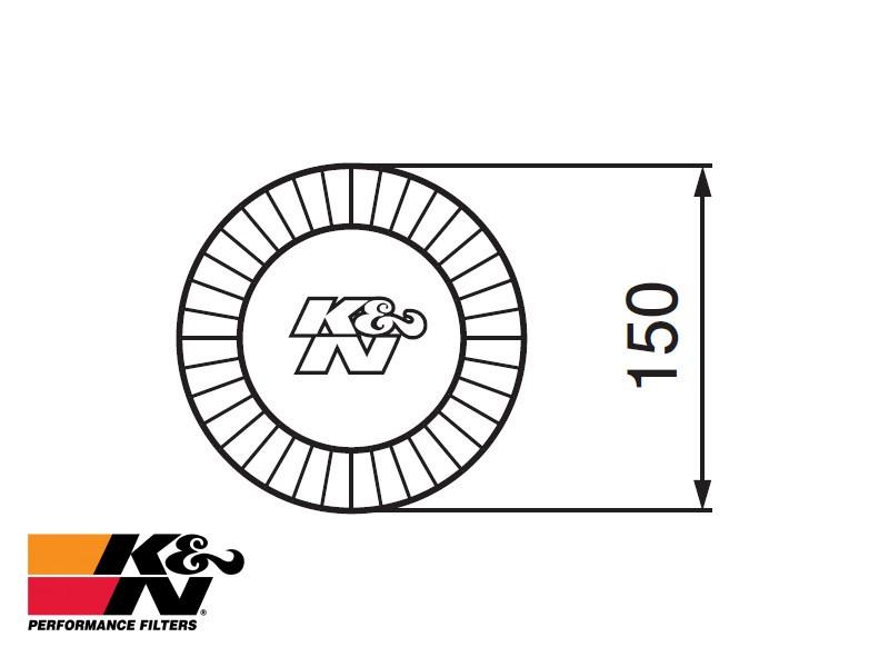 K&N Air Filter RF-1005