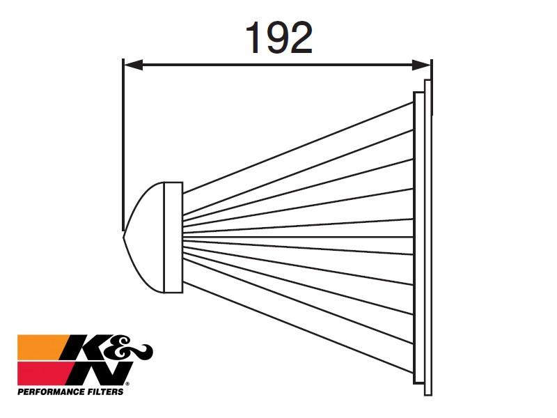 K&N Air Filter RF-3018A