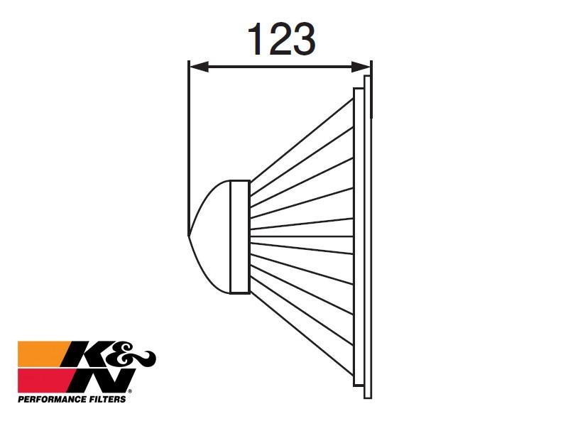 K&N Air Filter RF-3301A