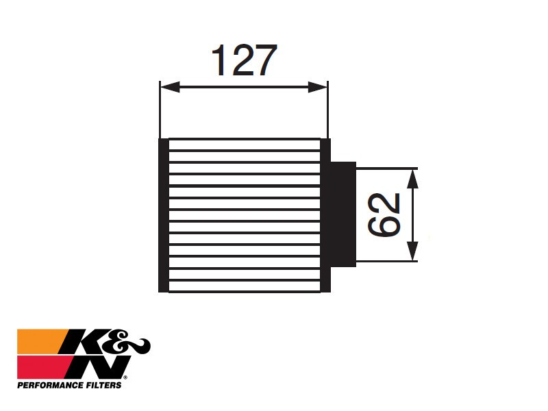 K&N Air Filter RU-0840