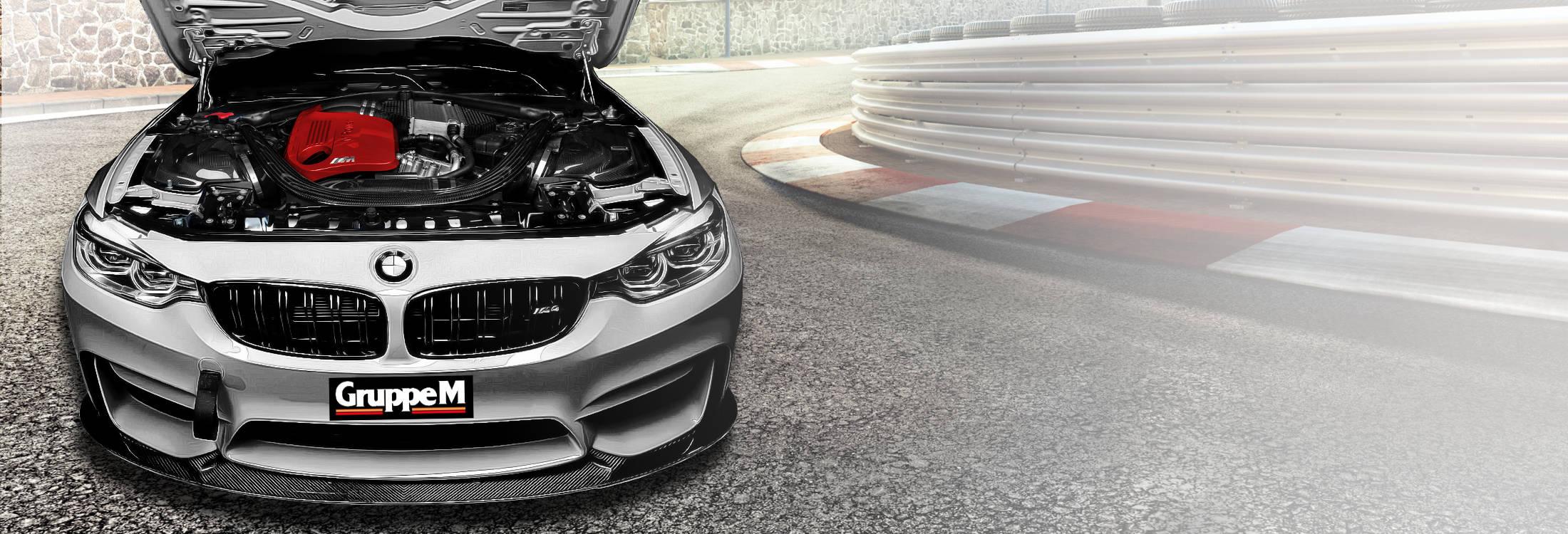 BMW Engine Bay with GruppeM